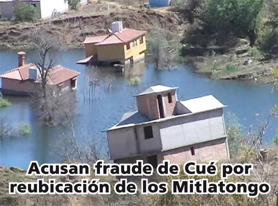 Acusan fraude de Cué enreubicación de los Mitlatongo