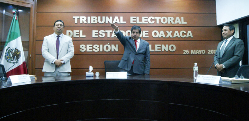 Pleno del TEEO nombra al Magistrado Miguel Ángel Carballido Díaz como su nuevo Presidente