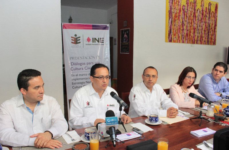 "IEEPCO e INE organizan ""Diálogos para una Cultura Cívica"""