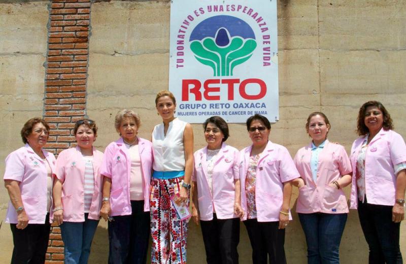 Respalda Ivette Morán de Murat trabajo de Grupo Reto A.C.