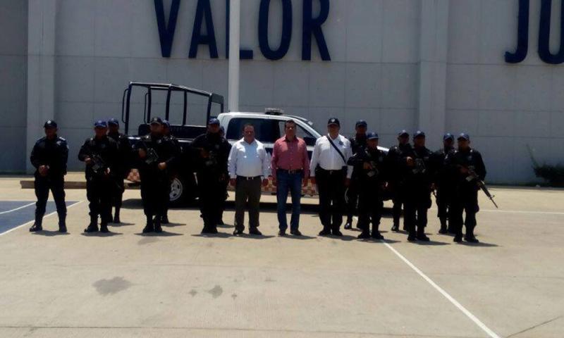 Inicia proceso de armamento de la Policía Municipal de Huajuapan