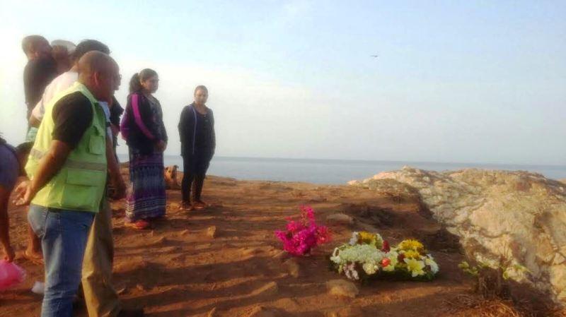 Con ceremonia, despiden a turista que cayó a un acantilado en playa de la Costa