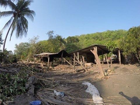 Desolación en rancho La Isla tras 'Beatriz'