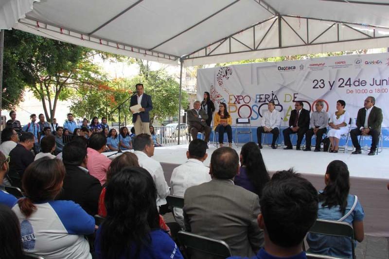 """Inició la """"Expo Feria Posgrado Oaxaca 2017"""""""
