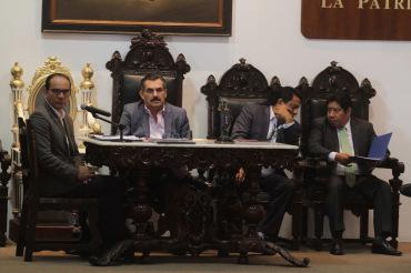 Sesionó cabildo de Oaxaca de Juárez