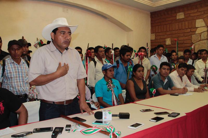 Conforman Consejo de Comunidades de la Región Loxicha y Sierra Sur