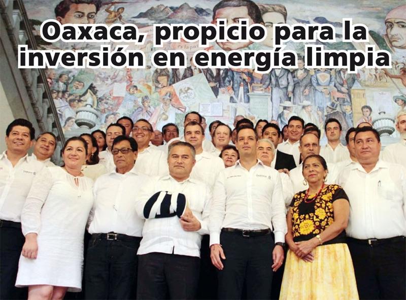 Oaxaca, propicio para la inversión de la industria eólica: Murat
