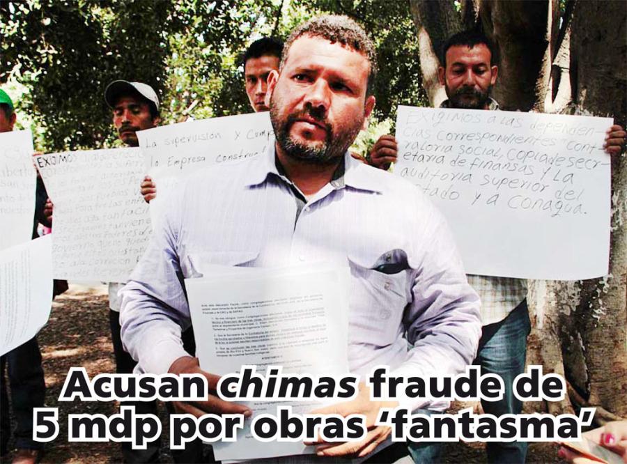 Acusan chimas fraude de 5 mdp por obras 'fantasma'