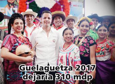 Guelaguetza 2017 dejaría 310 mdp a Oaxaca: AMH