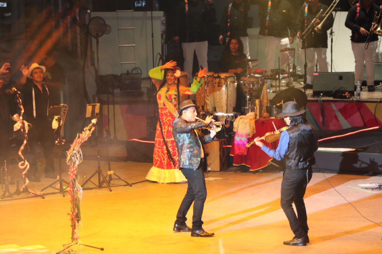 Un éxito, segundo concierto de Lila en el Guelaguetza