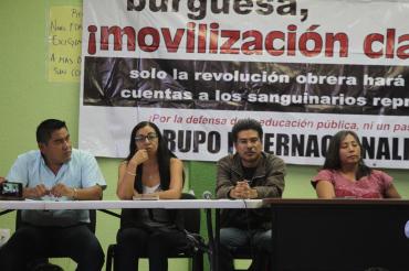 Manifestó S-22 su apoyo a trabajadores de Salud
