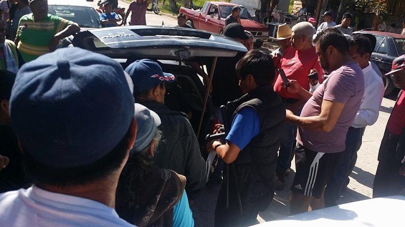 Pobladores de Santa Teresa exigen castigo a presuntos delincuentes