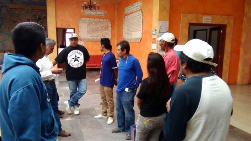 En Huajuapan, autorizan pago a trabajadores encargados de la limpieza del recinto ferial