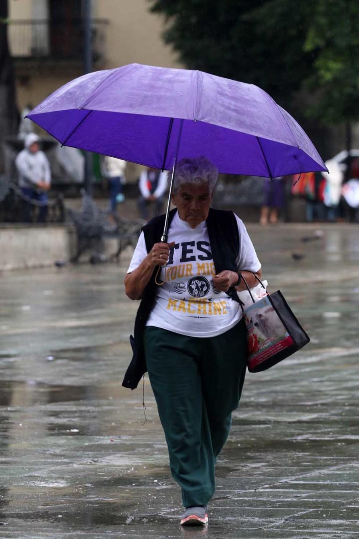 Continuarán lluvias en el territorio oaxaqueño