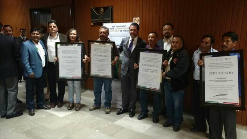 Certifican dos Áreas Naturales Protegidas en Ayuquililla