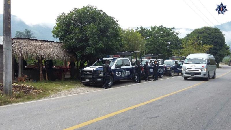 Continúan acciones de seguridad en la región de la Cuenca del Papaloapan