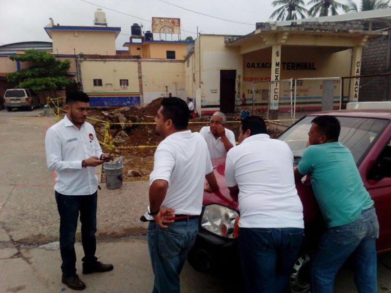 CTM detiene obras en Tehuantepec; exigen ser contratados