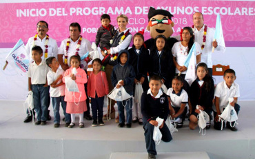 Beneficia Sistema DIF Oaxaca a población de la Sierra Norte