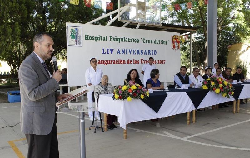 Hospital Psiquiátrico con más de medio siglo al servicio de Oaxaca