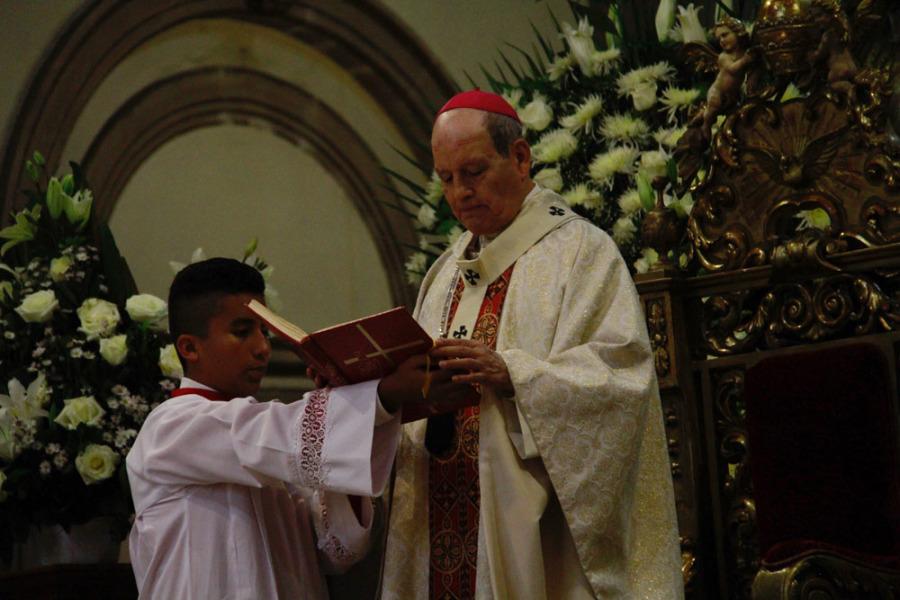 Durante misa, pidió arzobispo por la paz en Oaxaca