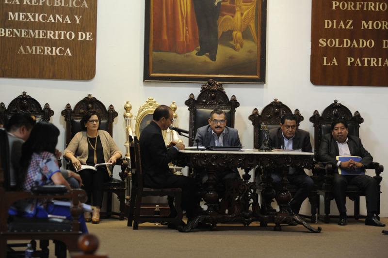 Aprobó Cabildo de Oaxaca de Juárez acciones de interés social