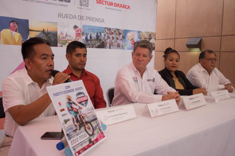 Puerto Escondido, epicentro del motocross nacional