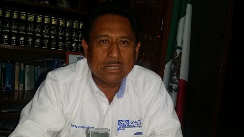 Renuncia Claudio Álvarez de dirigente panista; asume Avendaño Pineda interinato municipal