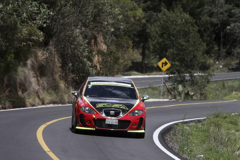 28 autos partirán este fin de semana en el Rally Sierra Mixteca en el Estado de Puebla