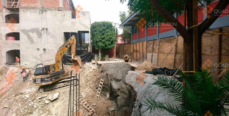 Acuerdan padres suspender inicio de clases en secundaria de Oaxaca por daños