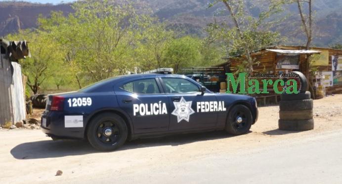 Aplica Policía Federal operativo en Teotitlán de Flores Magón