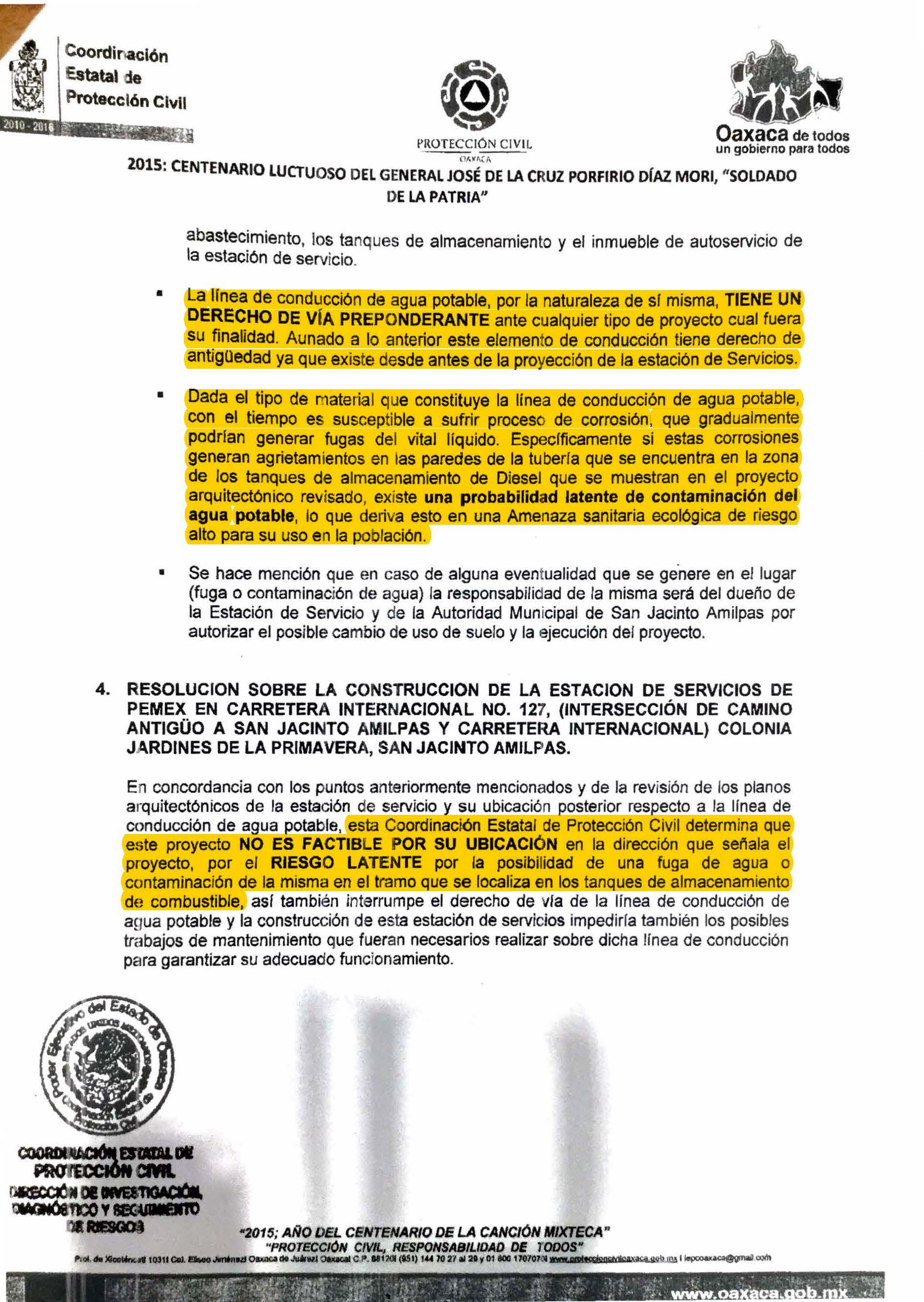 03-05 Reporte Protección Civil