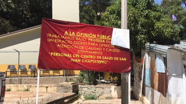 Demandan servicio en centro de salud de san juan chapultepec diario marca - Centro de salud san juan ...