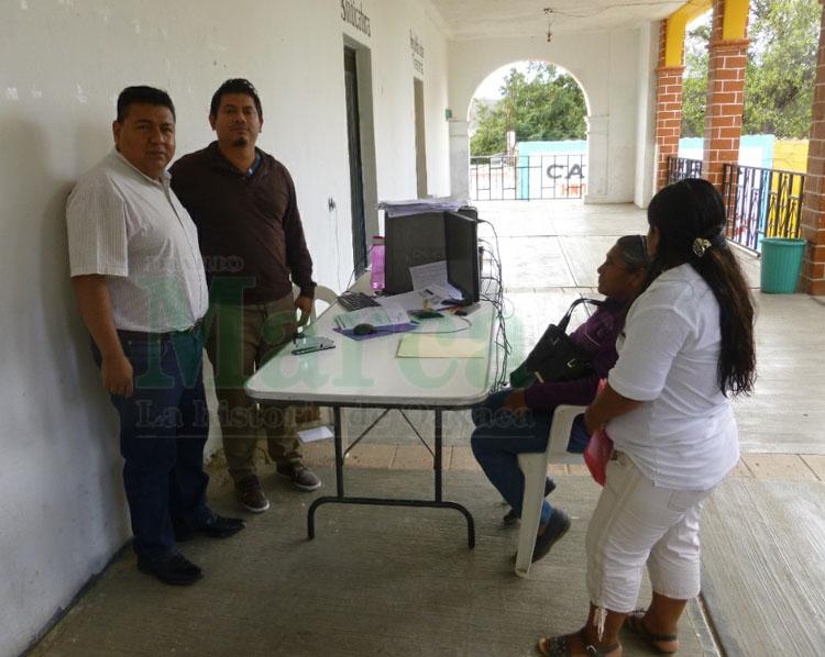 Instalan Módulo Del Seguro Popular En San Martín Toxpalan