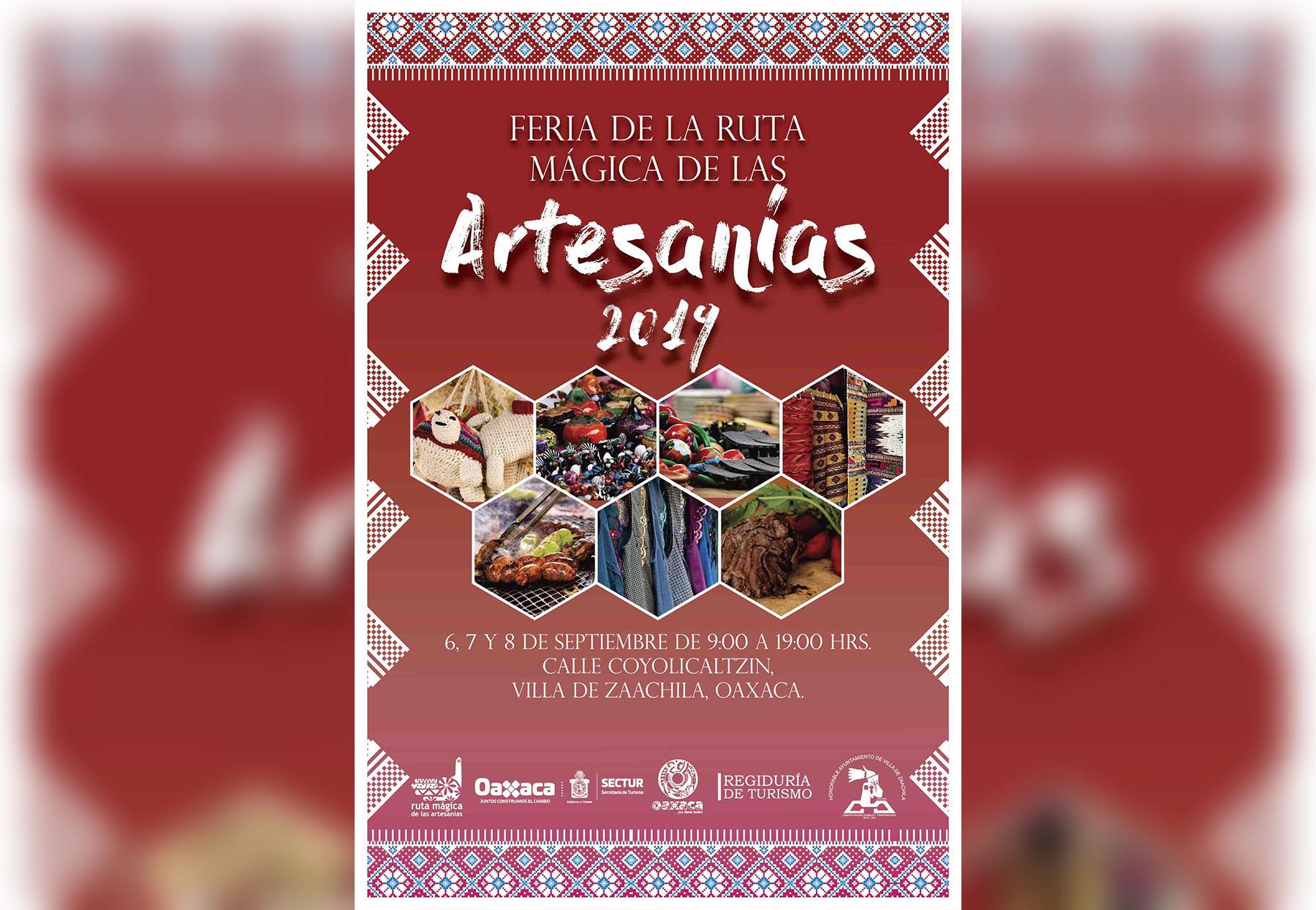 Se Celebrará En La Villa De Zaachila Expo Feria De La Ruta Mágica De