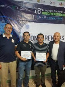 Por cuarto año consecutivo Oaxaca logra primer lugar a la mejor tesis en mecatrónica