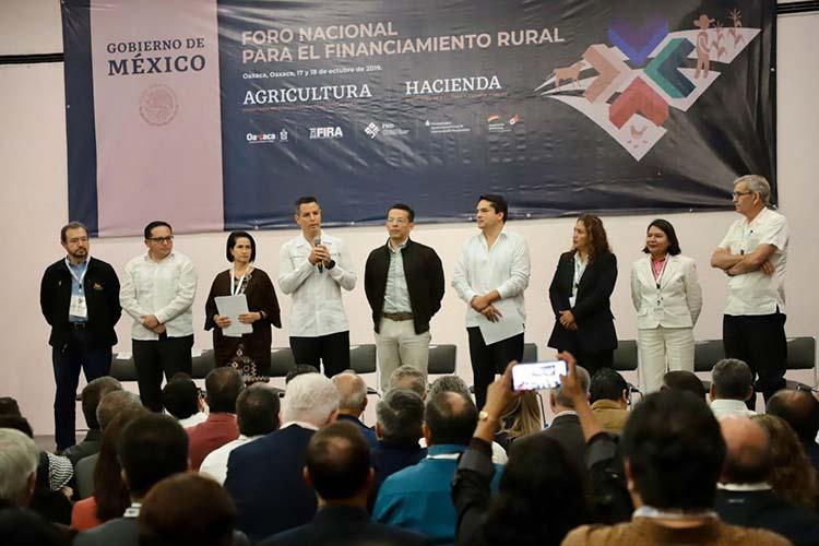 Destaca Murat importancia productiva que posee Oaxaca