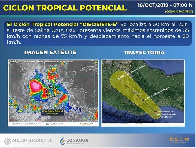 Activa Coordinación de Protección Civil (CEPCO) consejos municipales por temporada de lluvias en Oaxaca