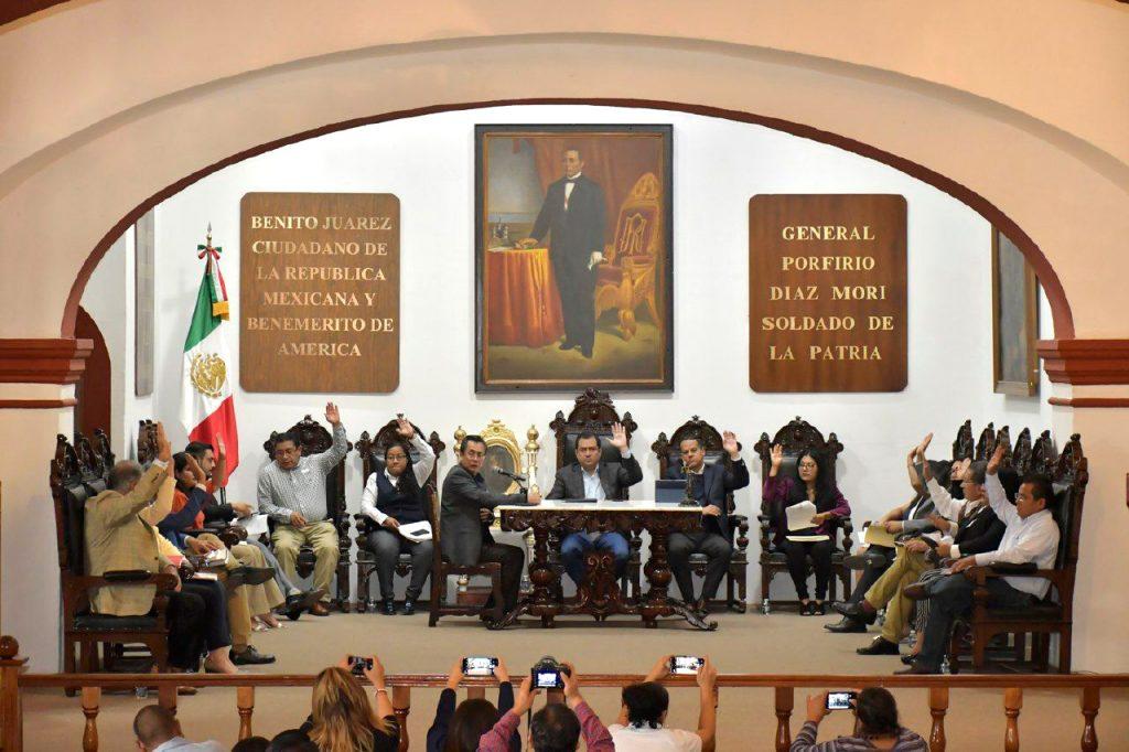 Sesión de cabildo de Oaxaca de Juárez del miércoles 16 de octubre de 2019