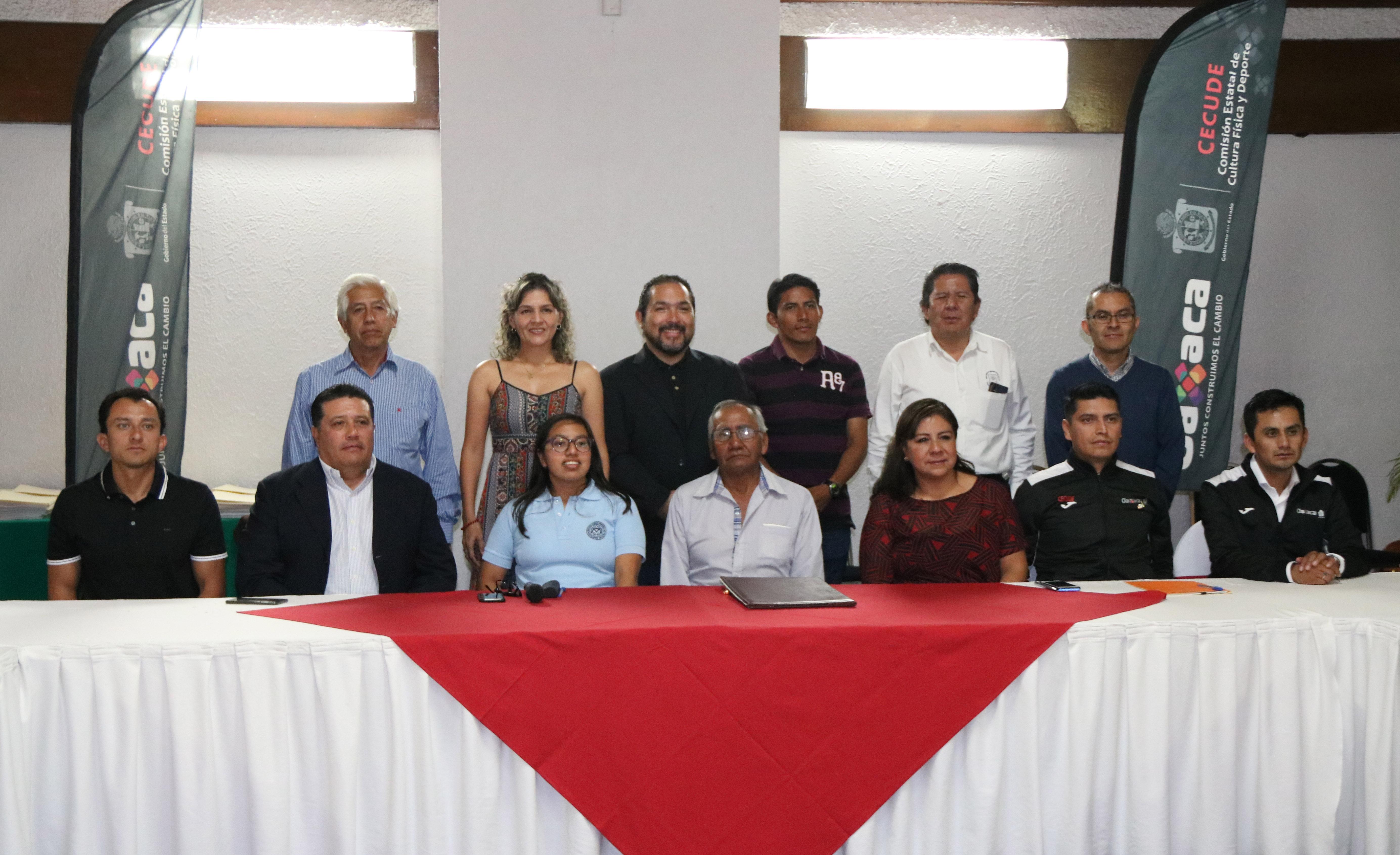 Jurado del Premio Estatal de Deporte Oaxaca2019