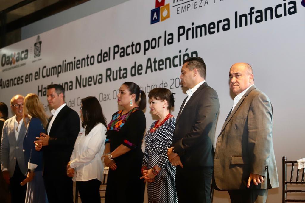 Fortalece IEEPO la educación inicial en su compromiso con el Pacto por la Primera Infancia