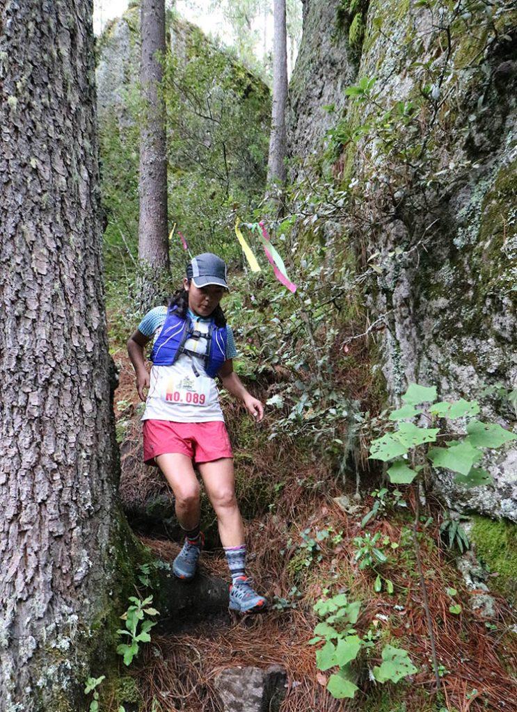 "Compiten en el Primer Ultra Trail ""Deportes Hugo Ixcotel"". Foto de Territorio Score."