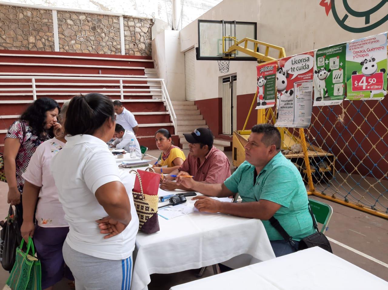 Apoyará Liconsa a 400 familias en Cuicatlán