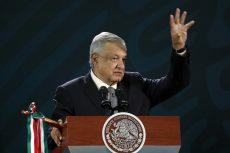 Conferencia Mañanera de AMLO en Oaxaca