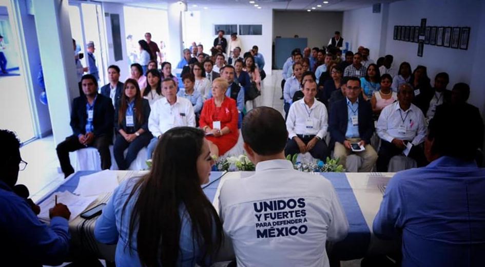 Rinden protesta consejeros estatales del PAN ante Marko Cortés