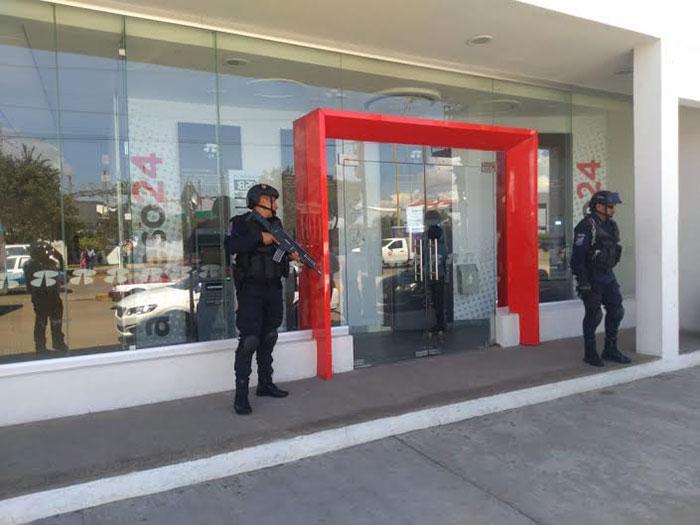 Reitera ayuntamiento capitalino acompañamiento policial a usuarios de bancos