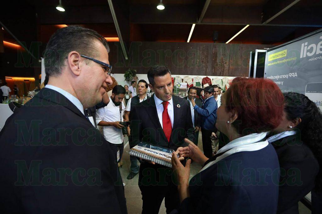 Inauguró Murat la 46 Convención Nacional de la Cámara Nacional de la Industria Maquiladora