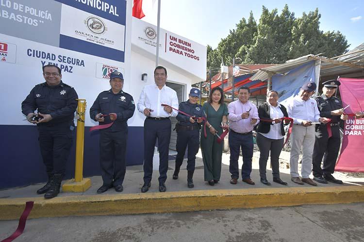 Refuerzan seguridad en el Mercado de Abasto de Oaxaca