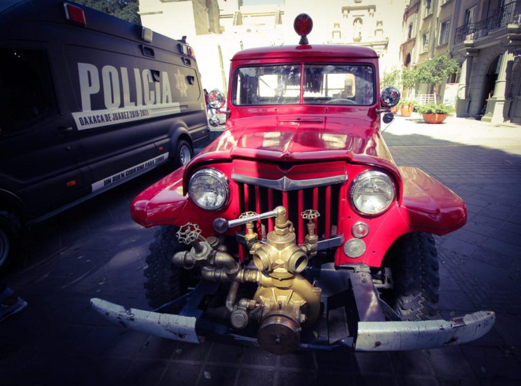 El Heroico Cuerpo de Bomberos de Oaxaca participó en la Expo Feria de Seguridad Pública Municipal