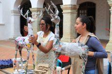Concluyó con éxito el taller de elaboración de renos en la verde Antequera