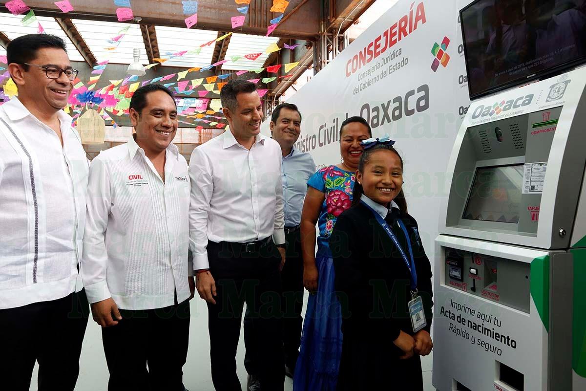 Modernizan Registro Civil De Oaxaca Instalarán 150 Módulos